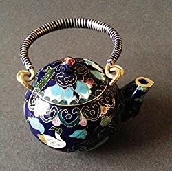 Bronze teapot gift idea for your husband - fun traditional 8th wedding anniversary present