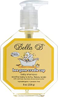 Bella B Bee Gone Cradle Cap Baby Shampoo 8 oz – Natural Shampoo – Dry Scalp..