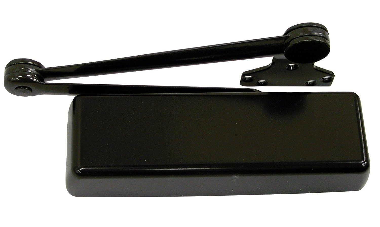 Dark Bronze Powder Coat Finished LCN 4110 Heavy Duty Door Closer Cast Iron Left-Handed Extra Duty Arm