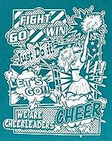 エイティズ 大人チアTシャツ [CCT577 Tシャツ アメコミ] (ピーコックグリーン, M)