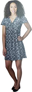 Soybu Women's V-Neck Everywear Dress