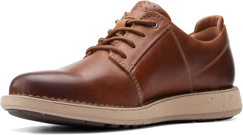 Clarks Mens Un Larvik Lace 2 Oxfords & Lace Ups Plain Toe Shoes
