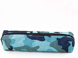 YWSCXMY-AU Camouflage Pencil Case Student Supplies Stationery Pencil Bag (Color : Blue)