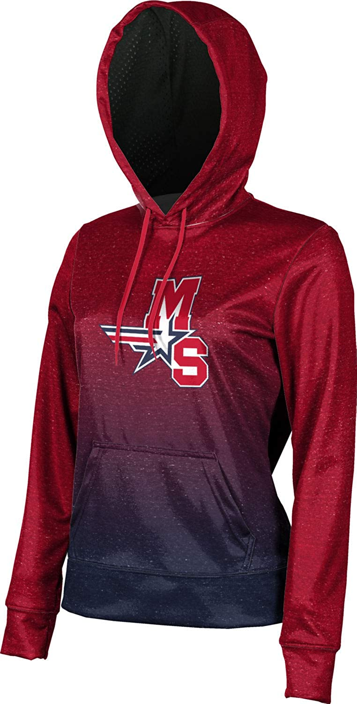 ProSphere Millard South High School Girls' Pullover Hoodie, School Spirit Sweatshirt (Ombre)