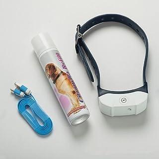Audza Rechargeable Stop Barking Citronella Dog Collar Anti Bark Training Mist Spray BH