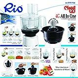 Maggi RIO 4G Food Processor and Cocunut Scrapper Attachment for only Philips Mixers HL1643/1645/1618/1629/1616