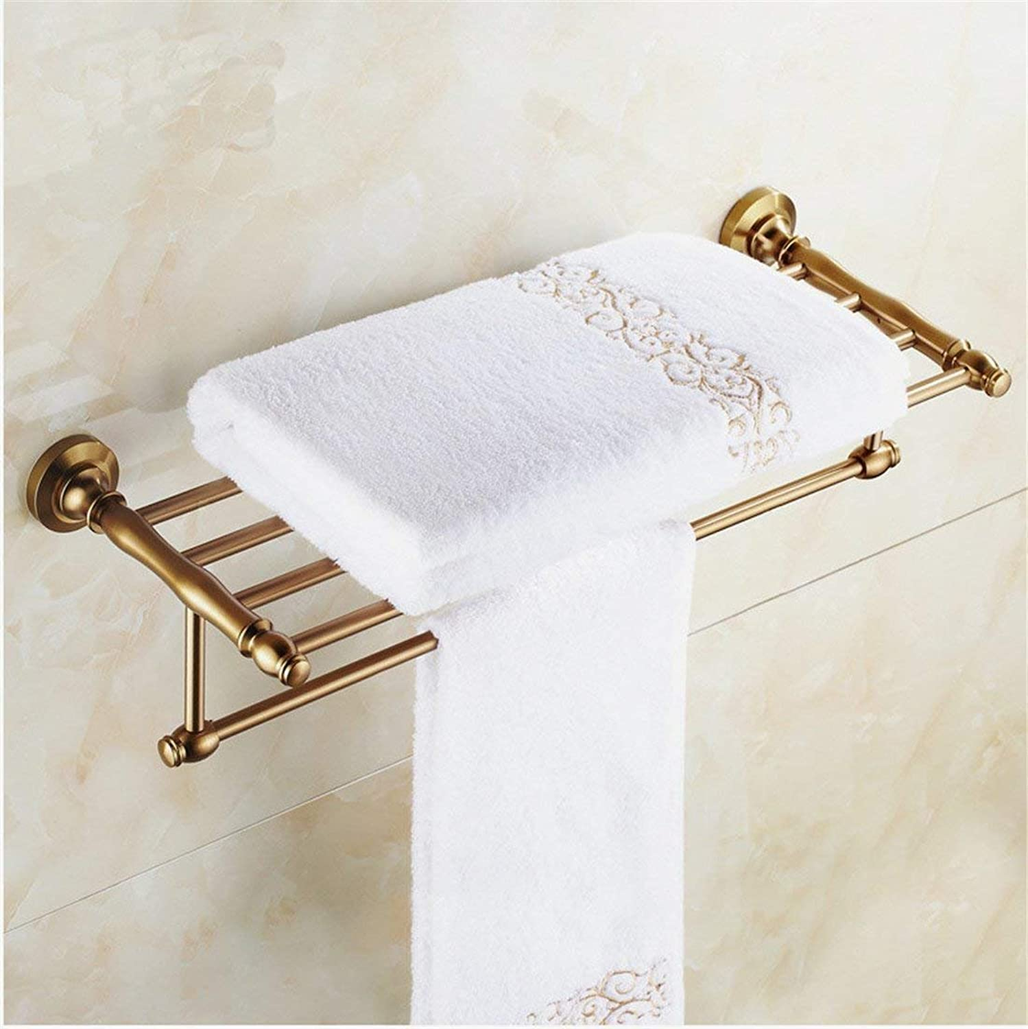 The European Space of The Aluminum Antique Copper Bathroom Accessories Door-soap, Dry-Towels