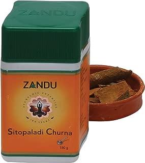 Zandu Sitopaladi Churna - 180g Homeopathic Medicine