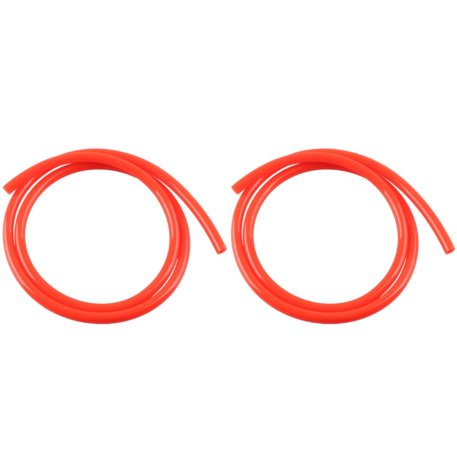 Keenso 1M Colorful Gas Petrol Fuel Line Hose Tube Pipe red Petrol 1//4 inch for Motorcycle Dirt Pit Bike ATV Snowmobile PWC Jet Ski Polyurethane