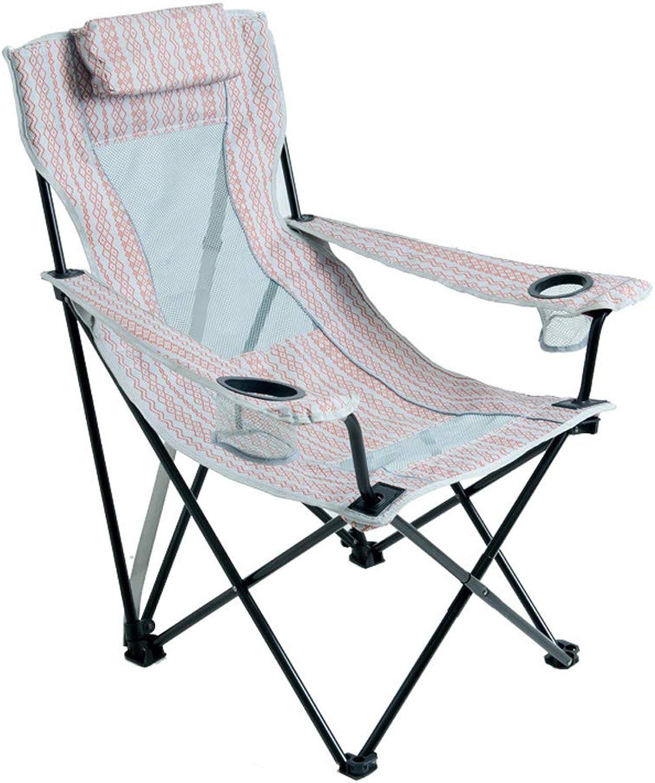 KLEDDP Stuhl faltstuhl im freien tragbarer hocker rückenstuhl Strand Balkon Freizeit Stuhl 83.8x91.4cm Klappstuhl