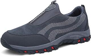 Sneakers Uomo da Fitness Sportive Scarpe de Arrampicata Ginnastica Suede Casuale Caldo Traspirante per Vecchio Trekking Ca...