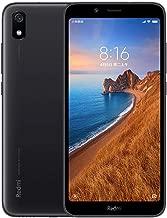 Xiaomi Redmi 7A Smartphone, 2 Go de RAM 16Go de ROM Double Sim 5.'' HD Plein écran, processeur Qualcomm Snapdragon Octa-Core, Grandes Polices, caméra 13MP + 5MP Noir (Version Globale)