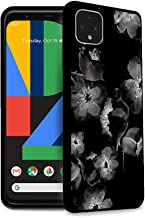 HELLO GIFTIFY Phone Case Compatible with Google Pixel 4 XL (6.3 inch 2019) Black Soft TPU Gel Protective Rubber Cover, Ink...