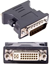 Cablecc LFH DMS-59pin Male to DVI 24+5 Female Extension Adapter for PC Graphics Card