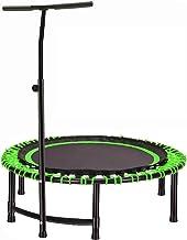 Fitness Trampolines, Mini Trampoline Volwassenen/Kinderen, Trampoline Met Verstelbare Handvat, Oefening Trampoline Voor Ki...