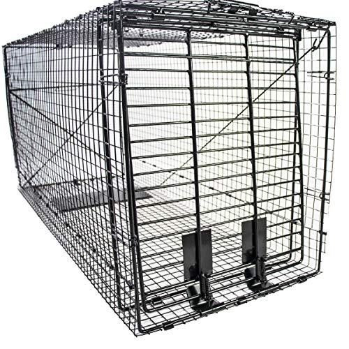 Humane Way 914050 Heavy Duty Live Large Dog Trap, X 50'x19'x24'