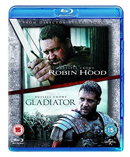 Robin Hood/Gladiator [Edizione: Regno Unito] [Reino Unido] [Blu-ray]
