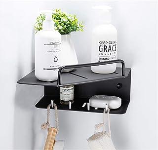 Étagère d'angle Douche Salle de bains Rangement étagère rack Organisateur étagère en aluminium espace douche panier d'angl...