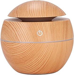 ADDCOOL 130ML Mini USB Humidifier Cool Mist Ultrasonic Aroma Humidifiers for Bedroom Office Car Yoga Aroma Diffuser (Beige)