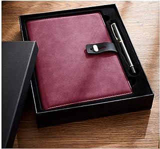نوت بوك بسيط سميك A5 نوت بوك شخصي إبداعي أدبي رائع لاجتماعات الأعمال سجل مذكرة مذكرة دفتر اليوميات (اللون: A، الحجم: مع صن...