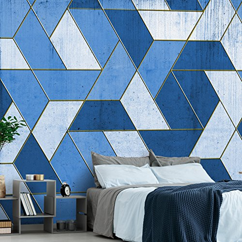 5 ROTOLI Carta da parati Geometry in Heaven moderna parete completa 285x300cm 8,55 MQ COLLA INCLUSA