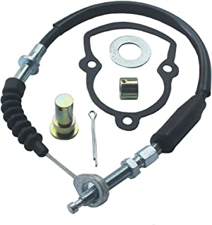 KIPA Rear Brake Cable Kit For YAMAHA YFS200 Blaster 200 ATV 1988-2001 (Not Fit fit for a +4 extended swingarm)