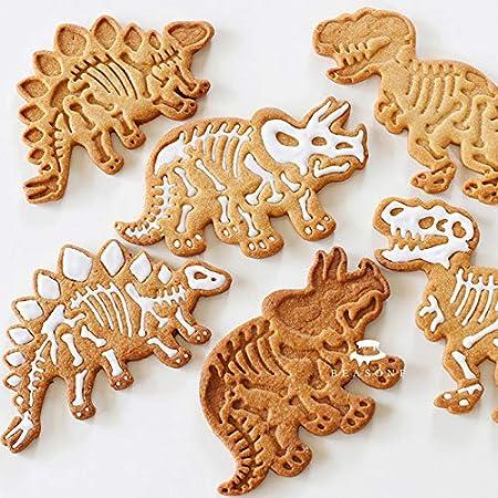 Mini Dinosaure Forme Gâteau Pâtisserie Biscuit Cookie Cutter cuisson Fondant Moule QK
