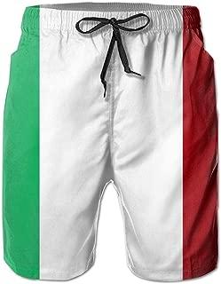 italian flag bathing suit mens