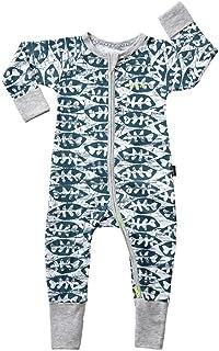 Bonds Baby Wondersuit 2 Way Zip Sleep and Play Fold Over Hand/Feet Cuffs