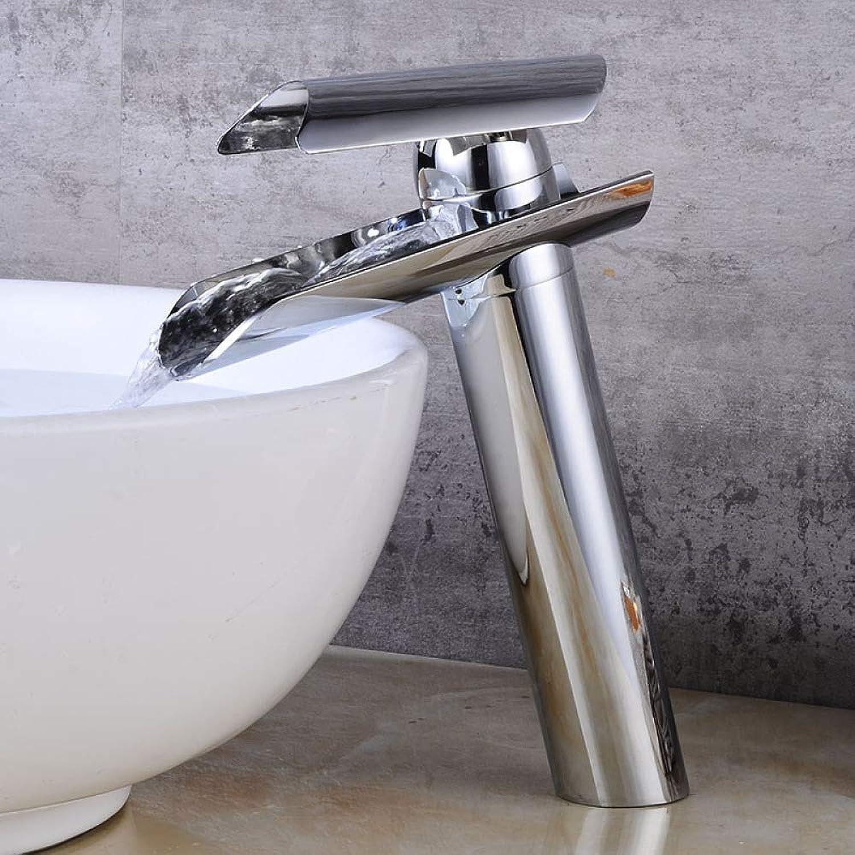 ZHAOSHOP Wasserhahn Kupfer Waschbecken Wasserhahn heien und kalten Waschbecken Becken über Aufsatzbecken Badezimmerschrank Bad Bad Einlochmontage