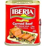 Iberia Corned Beef, 12 oz, Premium Quality Corned Beef With Natural Juices, Halal
