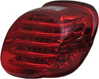 Custom Dynamics ProBEAM Low Profile LED Taillight w/Window, Red PB-TL-LPW-R
