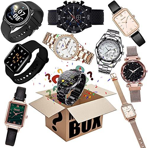 Mystery Box Watch Lucky Box, Random Style Blind Box, Super Costeffective, Excellent Value for Money, First Come First Served, Ge dig själv en överraskning, eller som en gåva till barn, hjärtslag!