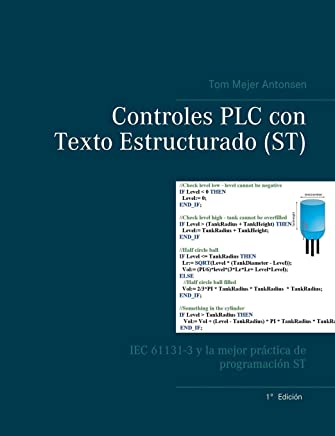 Controles Plc Con Texto Estructurado (St) (Spanish Edition)