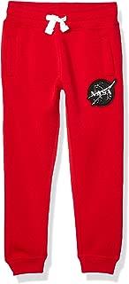 SOUTHPOLE Boys' Little NASA Collection Fleece Jogger Pants