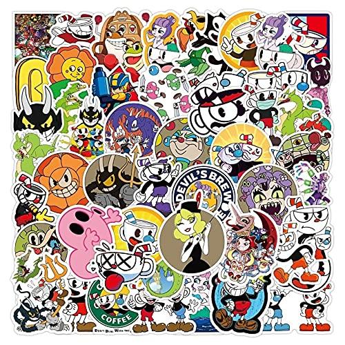 50pcs Stickers Cartoon Waterproof Decals DIY Notebook Laptop Luggage Phone Scrapbooking Stationery Sticker Toys