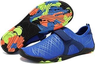 Boys & Girls Water Shoes Lightweight Comfort Sole Easy Walking Athletic Slip on Aqua Sock(Toddler/Little Kid/Big Kid)