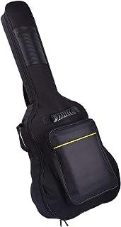 1aa3294f096 CAHAYA [Upgraded Version] 41 Inch Acoustic Guitar Bag 0.3 Inch Thick  Padding Waterproof Dual