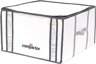 Compactor Life Style Lot de 5 Sacs de Rangement sous Vide Blanc/Gris Taille M