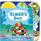Elmer's Day: Tabbed Board Book [Lingua inglese]