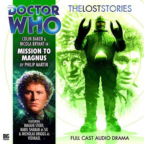Doctor Who - The Lost Stories - Mission to Magnus audiobook cover art