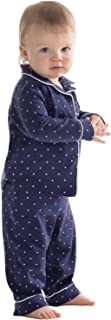 Infant and Toddlers Classic Knit Button-Front Pajamas