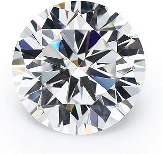 JIANGYUANGEMS 1000 piezas de 1,9 mm 5 A, corte a máquina redondo de circonita cúbica blanca suelta (1,9 mm)
