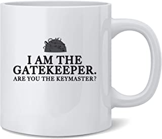 Poster Foundry I Am The Gatekeeper are You The Keymaster Coffee Mug Tea Cup 12 oz
