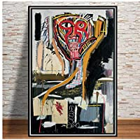 BGGGTD ポスター ポスターとプリントグラフィティモダンストリートアーティストキャンバス絵画壁アート写真ヴィンテージポスター装飾家の装飾Tableau装飾絵画-50x70x1フレームなし