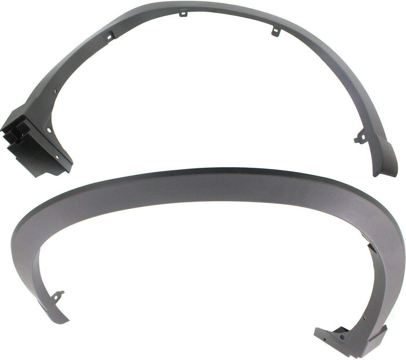 VioletLisa New Replacements Set of Moulding Don't miss the campaign Trim Fender Flares 2 New popularity