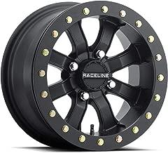 Raceline 17-18 CAN-AM MAVX3XRS Mamba Blackout Beadlock Wheel (Front / 14X7 / 4X137 6+1)