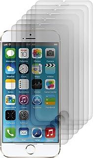 kwmobile 6x pellicola protettiva per display OPACA e ANTIRIFLESSO con effetto anti-impronte per Apple iPhone 6 / 6S / 7/8 ...