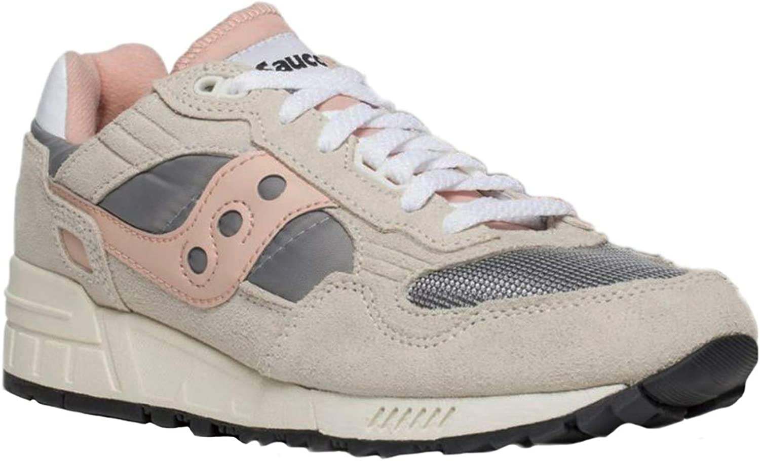 Saucony Womens Shadow 5000 Vintage Leather Textile Synthetic Trainers