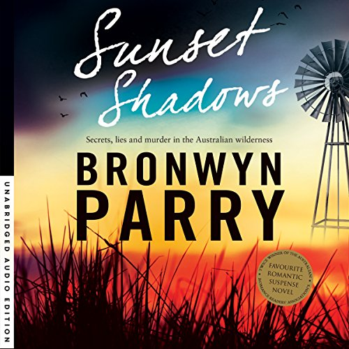 Sunset Shadows audiobook cover art